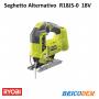 Seghetto alternativo pendolare a batteria R18JS-0