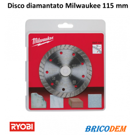 DISCO DIAMANTATO DUT MILWAUKEE 115MM