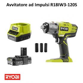 Avvitatore ad Impulsi RYOBI R18IW3-120S