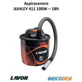 Bidone Aspiracenere Lavor Ashley 411 elettrico 1000W aspira cenere stufe e camini