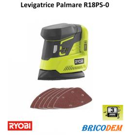 Levigatrice Palmare a batteria RYOBI R18PS-0 solo