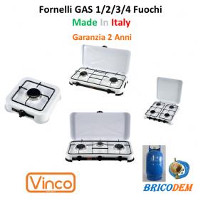 FORNELLO A GAS  GPL FORNELLINO DA CAMPEGGIO  CUCINA PORTATILE    2 3 4 FUOCHI