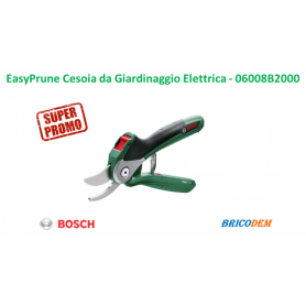 Bosch EasyPrune Cesoia da Giardinaggio a Batteria, 3.6 V, in Blister, Verde - 06008B2000 EN