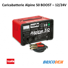 Caricabatterie Telwin Alpine 50 Boost - batterie WET/START-STOP con tensione 12/24V