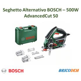 Bosch Home and Garden AdvancedCut 50 Seghetto alternativo incl. valigia 500 W