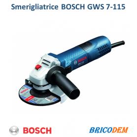 Smerigliatrice Bosch GWS 7-115 - Piccola 0601388106 720W 115mm