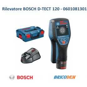 BOSCH D-TECT 120 PROF METAL DETECTOR RILEVA TUBI CAVI METALLI 0601081301