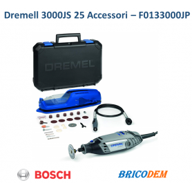 Multiutensile Dremel 3000JS 25 accessori in valigetta porta utensili F0133000JP