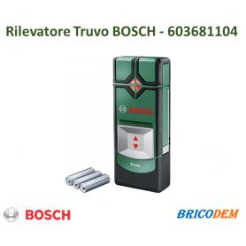 Bosch 603681104 Rilevatore Truvo, 3 Batterie AAA, Profondit  di Rilevamento Max.