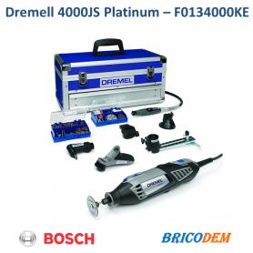 Dremel Trapano Utensile Multifunzione a filo 128 accessori valigia 4000 PLATINUM