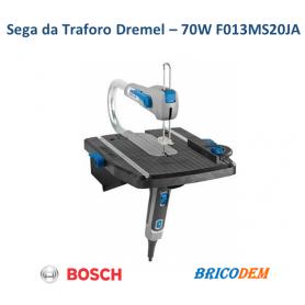 DREMEL Moto-Saw MS20-1/5 Sega da Traforo 70 Watt 1 Complemento 5 Accessori