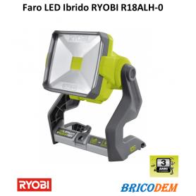 Lampada faro Led  portatile Ryobi R18ALH-0 Hybrid da lavoro ONE+