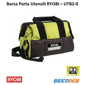 Borsa porta attrezzi ed utensili Ryobi UTB 2 in tessuto nylon da lavoro
