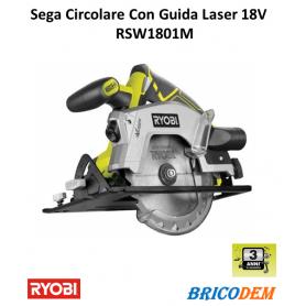 Ryobi RWSL1801M Sega Circolare 18V con Guida Laser ONE+