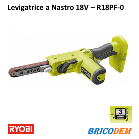 Ryobi R18PF-0 5133004179 Levigatrice a nastro 18 V ONE+