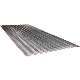 Lamiera ondulata foglio 200x90 cm - spessore 0,25 mm copertura parete
