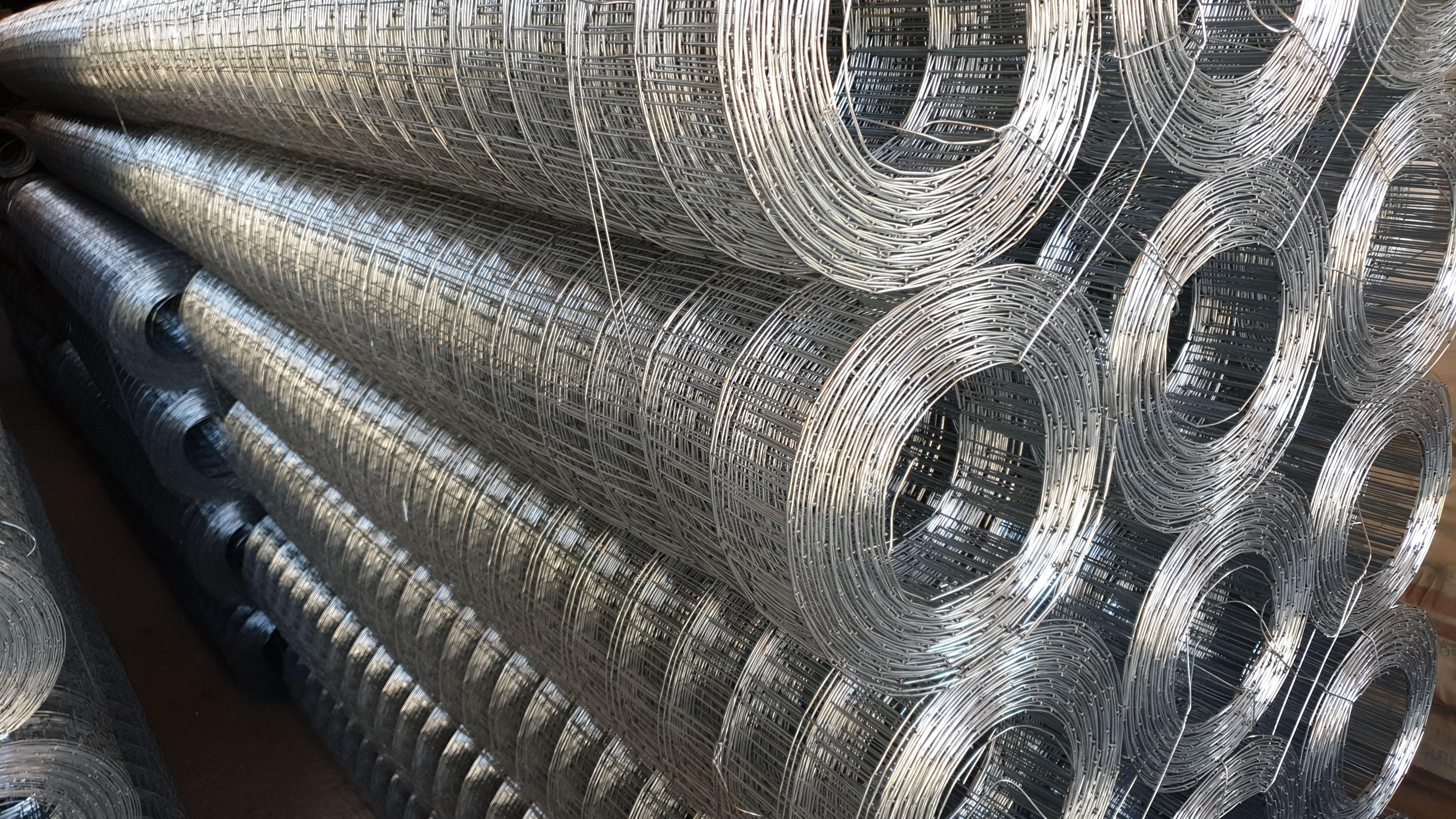 Rete zincata per recinzione elettrosaldata 50x75mm